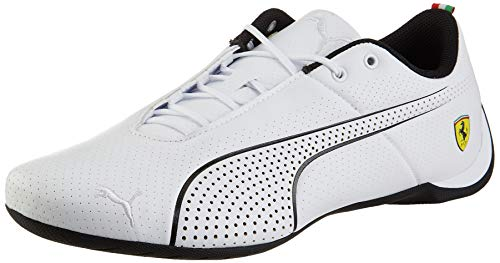 PUMA Ferrari Future Cat Ultra Sneaker Puma White-Puma Black UK 6_Adults_FR 39