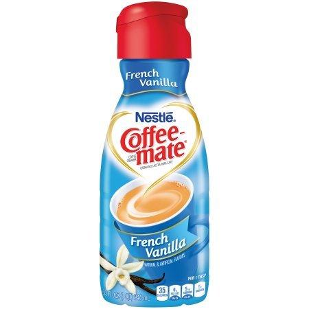 COFFEE-MATE French Vanilla Liquid Coffee Creamer 32oz (Pack of 2)