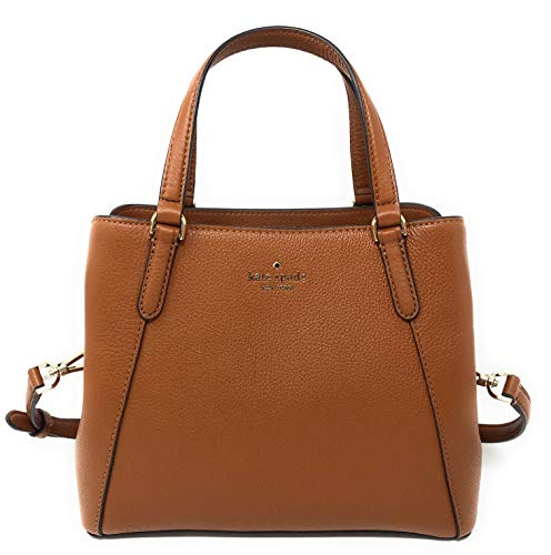 Kate Spade Purse Jackson Medium Triple Compt Satchel Shoulder Bag (Warmgingerbread)