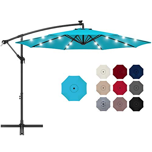 Best Choice Aluminum Polyester Cantilever patio umbrella