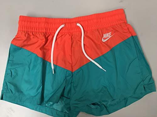 Nike Damen W NSW HRTG WVN Shorts, Cabana/Turf orange/White, S