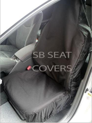 R – Adecuado para Renault ZOE coche, fundas de asiento, color negro