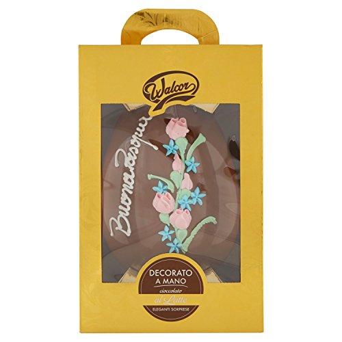 Walcor - Uovo Pasqua Decorato Cioccolato Latte - G 800