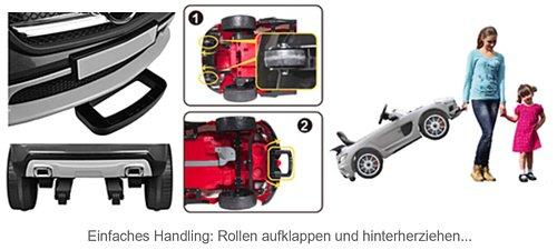 RC Auto kaufen Kinderauto Bild 4: SIMRON - Mercedes-Benz A45 AMG SUV Ride-On 12V Kinderauto Kinderfahrzeug (Schwarz)*