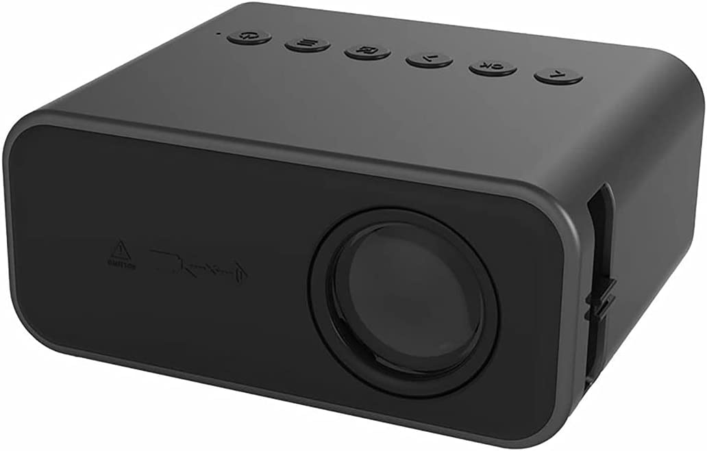 Gaxi YT500 Projector with Wired Same Screen High-Speed Picture Built-in Composite Diaphragm Speaker Portable LED Projector
