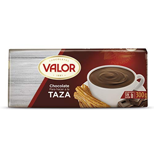 Valor Chocolates Chocolate para Hacer A La Taza, 300g