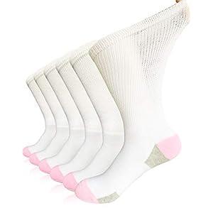 buy  Women Diabetic Socks Non-Binding Wide Top Loose ... Diabetes Care