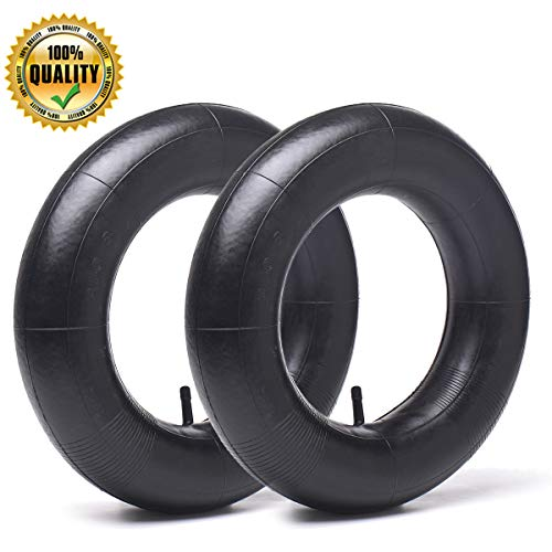 2 Pack 3.00/3.50-8 Replacement Inner Tubes for pneumatic wheelbarrow wheel,cart wheel, garden cart, wagons - Made From Heavy Duty, Thick Premium Rubber