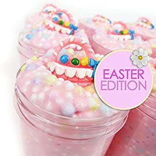 Easter Basket Slime - Semi-Floam Slime with Charm (Scented)