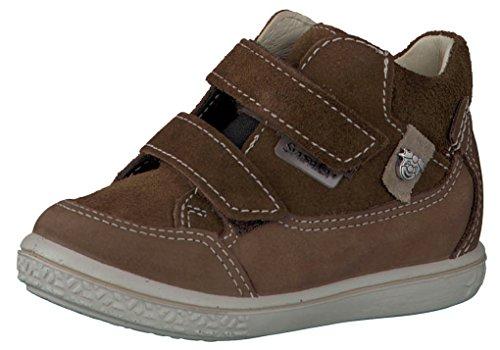 Ricosta Zach 2521600-266 Tan Nubuck Leather Boys Rip Tape Waterproof Ankle Boots EU 21