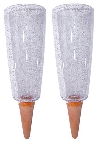 Scheurich Copa XL Bewässerung Wasserspender Bewässerungskugel grün transparent