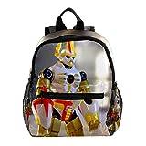 Der Spielzeugroboter Rucksack süße 12-Zoll-Mini-Pack-Tasche für Kinder Jungen oder Mädchen Schultasche und Frauen Tagesrucksack 25.4x10x30cm