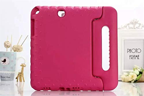 GHC Pad Fundas & Covers para Samsung Tab A 9.7, Caja de tabletas EVA a Prueba de Golpes EVA Cubierta Protector de Shell para Samsung Galaxy Tab A T550 T555 SM-T550 9.7' (Color : Rose Red)