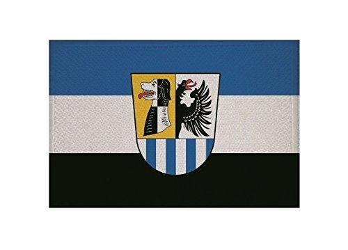U24 Aufnäher Landkreis Neustadt-Bad Windesheim Fahne Flagge Aufbügler Patch 9 x 6 cm