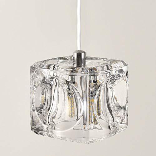 ROKI照明『1灯ガラスキューブペンダントライト』