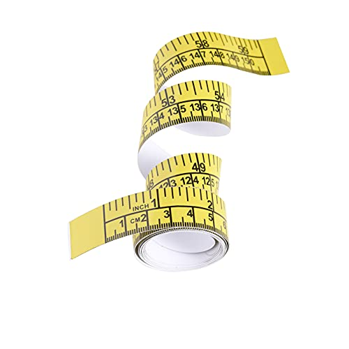 LUXX Wares 59inch 150cm Self Adhesive Tape Measure Ruler Sticker Kayak Fishing...