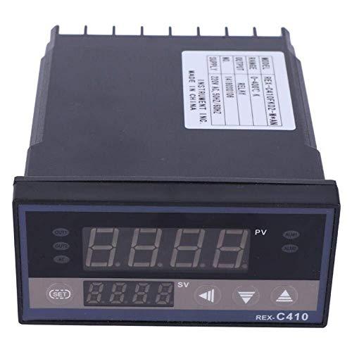 Viewsys Salida de control del relé de Controlador de temperatura digital Termostato AC220V (# 1)