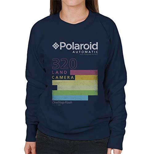 Polaroid Automatic 320 Women's Sweatshirt, Navy Blue or Black, S to XXL