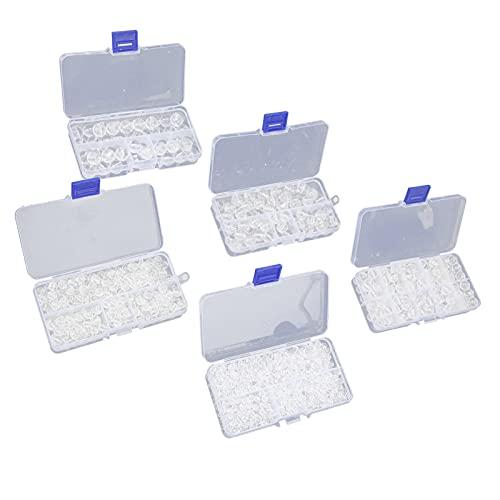 1396 Uds juego de cuentas de piedra accesorios para hacer joyas cristal acrílico suelto transparente para bricolaje fabricación de joyas pulsera