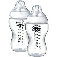 Tommee Tippee Biberones Closer to Nature, 340 ml, 2 Unidades, Transparente
