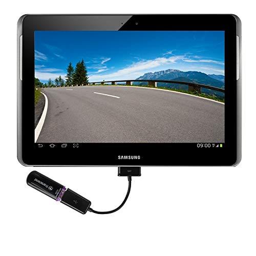 Wicked Chili USB Adapter kompatibel mit Samsung Galaxy Note 10.1 N8000 / N8010 / Tab/Tab 2/7.0/8.9/10.1 (Host, OTG, USB Buchse für Maus, Tastatur, Externe Festplatte, USB - Stick
