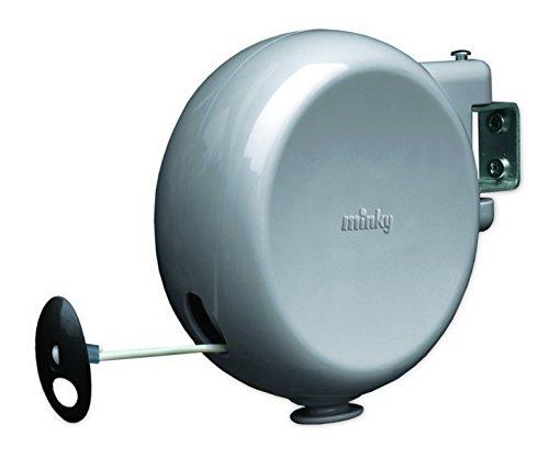 Minky - Corda da bucato riavvolgibile, 15 m