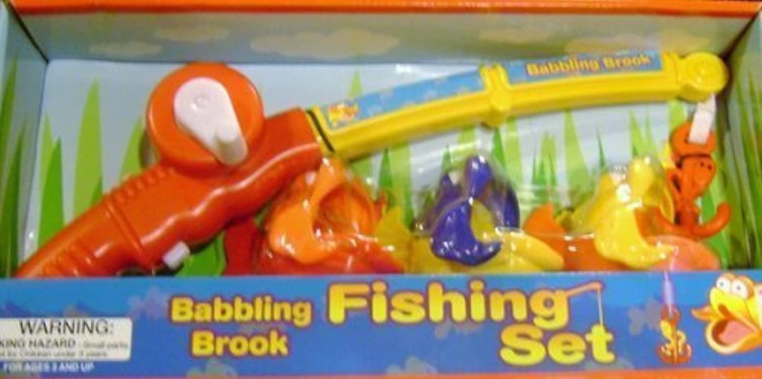 Babbling Brook Fishing Set with Real Water Sounds