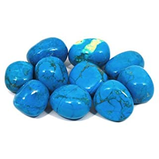 CrystalAge Blue Howlite Tumble Stone (20-25mm) - Pack of 10 (B00O72L7G8) | Amazon price tracker / tracking, Amazon price history charts, Amazon price watches, Amazon price drop alerts