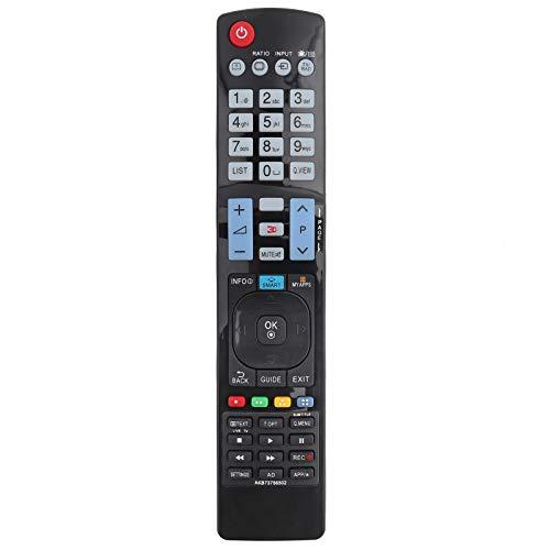 PUSOKEI Control Remoto de televisión, reemplazo de Control Remoto Universal para LG 60LA620S AKB73756504 32LM620T AKB73275618 AKB73756502