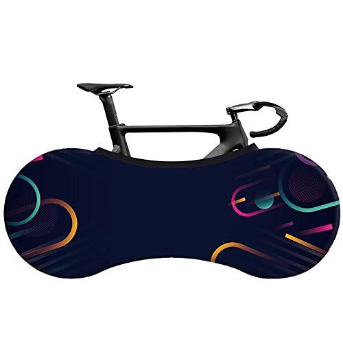 Funda Bicicleta XYBB Cubierta de Bicicleta de Carretera MTB Tela elástica 26'-28' Cubierta de protección de neumáticos Cubierta de Polvo Interior de Bicicleta Cubierta 4