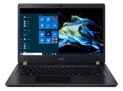 Acer Travelmate TMP214-52 14-inch Laptop (10th Gen Core i5-10210U/8GB/1TB HDD + 256GB SSD/Window 10 Home 64Bit/Intel UHD Graphics), Black
