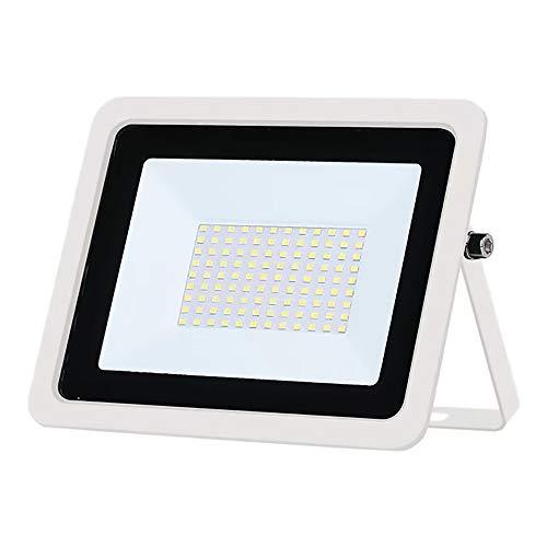 Projecteur LED extérieur ultra-mince 220V, IP68 étanche, projecteur LED extérieur, éclairage de sécurité, utilisé dans le garage de la cour de jardin, blanc froid 20W