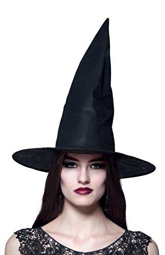Boland 96918 - heksenhoed Ursula voor volwassenen, eenheidsmaat, zwart