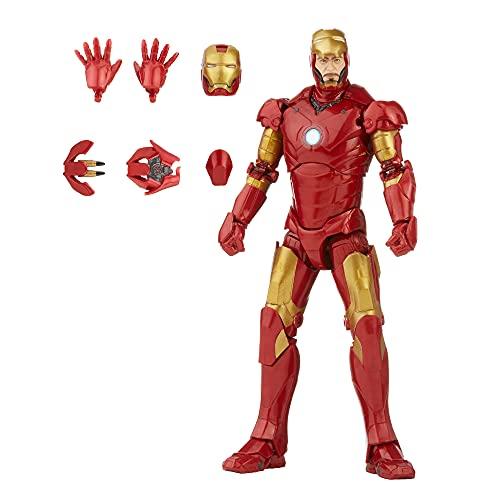 Marvel Legends Series Saga do Infinito Design Especial, Figura de 15 cm - Homem de Ferro Mark 3 - F0184 - Hasbro