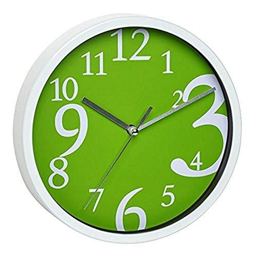 TFA Reloj de Pared electrónico Verde de 200 mm