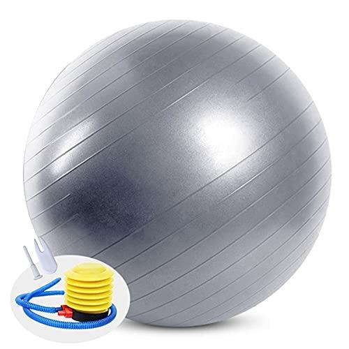 Balones de Ejercicio 55cm Antideslizante Pelota de Yoga para Dar a luz Pilates Yoga Equilibrio de Estabilidad