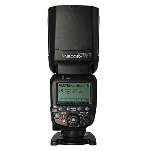 YONGNUO YN600EX-RT II 2.4G Wireless 1/8000s HSS GN60 5600K Master TTL Flash Speedlite for Canon Camera
