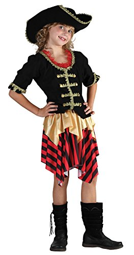 Bristol Novelty Costume De Pirate Pour Fille, Taille L, CC898, Grand