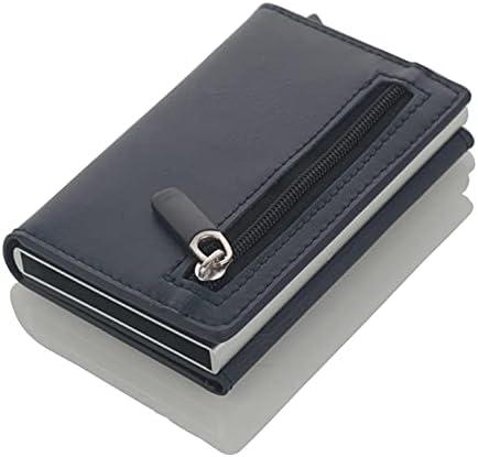 LMNUY Credit Card Wallet Credit Card Holder Aluminum Box Card Wa