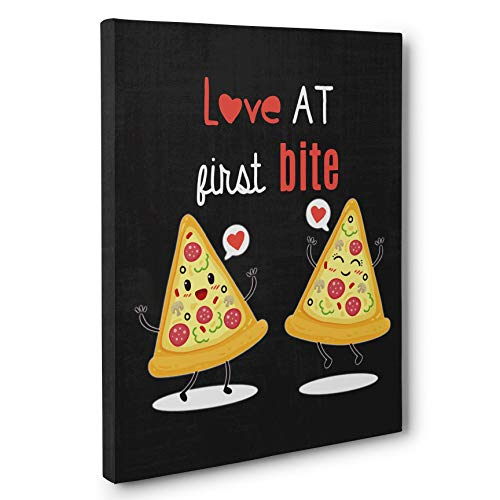 Pizza Sweetest Day Gift CANVAS Wall Art