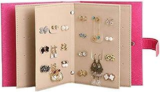 Travel Portable Jewelry Box Jewelry Storage Earring Book