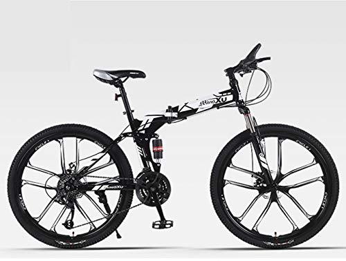 Auto da corsa pieghevole per bicicletta da mountain bike Veicoli da strada da 26 pollici 27 Biciclette a doppio disco a velocità variabile per uomini e donne