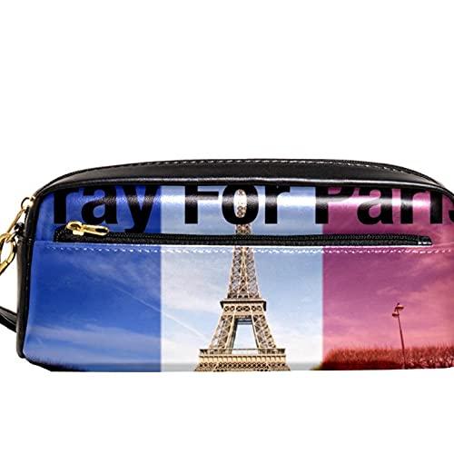 Orar por París, Francia, estuche para lápices de gran capacidad, organizador de lápices, bolsa para la escuela, adolescentes, niños, niñas, hombres y mujeres