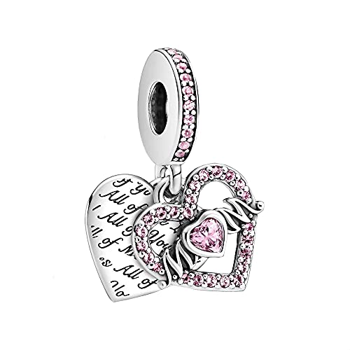 Pandora Heart & Mum - Colgante de corazón