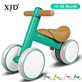 XJD Baby Balance Bikes Baby Toys for 1 Year Old Boy Girl 10-36 Months Adjustable Height Toddler Bike Infant No...