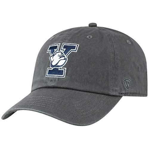 Elite Fan Shop Top of The World Herren Mütze NCAA verstellbar Relaxed Fit Charcoal Icon, Herren, NCAA Men's Adjustable Hat Relaxed Fit Charcoal Icon, Yale Bulldogs Charcoal, Einstellbar