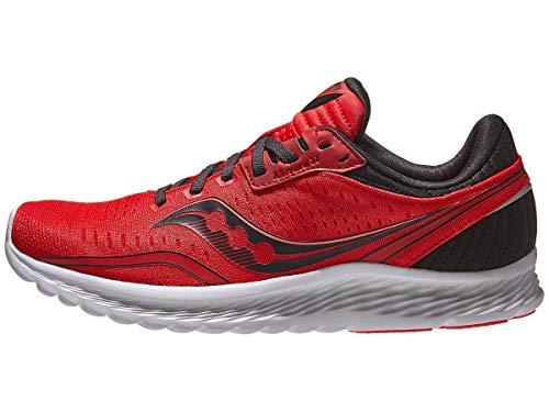 Saucony Kinvara 11, Zapatillas para Correr Hombre, Red/Black, 41 EU