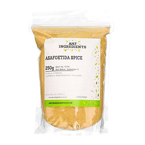 JustIngredients Essential Asant-Gewürz, Asafoetida Spice, 1er Pack (1 x 250 g)