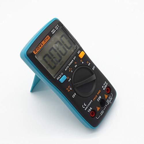SHIJING Digital Auto Range Tragbares Multimeter 6000 zählt Hintergrundbeleuchtung Amperemeter Voltmeter Ohm Englisch/Russisch Bedienungsanleitung