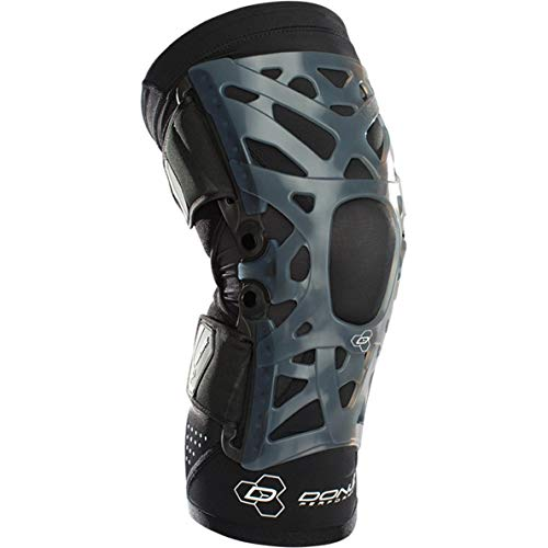 DonJoy Performance WEBTECH Knee Support Brace with Compression Undersleeve: Black, Large